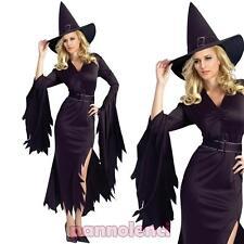 Costume carnevale donna vestito STREGA abito travestimento Halloween DL-1948
