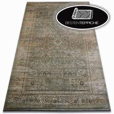 """schön zu berühren traditioneller Teppich Grün """"JASMIN"""" Weich wie Seide"""