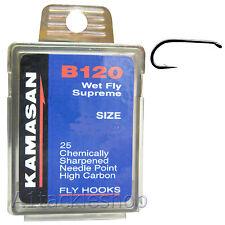 Kamasan B120 Wet Fly Supreme Trout Fly tying Hooks