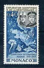 MONACO - 1969  yvert 805 - Explor. mer, poissons neuf**