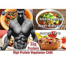 Haute Protéine Végétarien Chilli, riche en protéines et pauvre en glucides