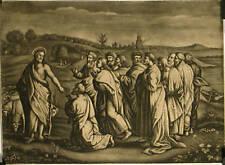 Manière noire d'après Raphaël, Histoire de Saint Jean