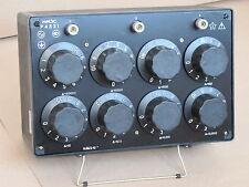 0-100 kOhm 0-111 kOhm 100000 ohm decade resistance box standard resistor P4831