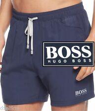 NWT Hugo Boss Black Label By Hugo Boss LOGO Quick Dry Swim Trunks