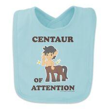 Centaur Center of Attention Funny Humor Baby Bib