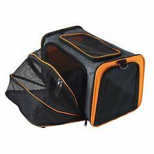 Folding Expandable Pet Carrier Hand Shoulder Bag Kennel Cage Tote Fr S-L Dog Cat