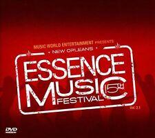 ESSENCE MUSIC FESTIVAL - Vol. 2.1 [Live] (BEYONCE, JOHN LEGEND) CD + DVD
