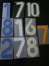 24H Kit Printing Numero a scelta x pantaloncino calcio PVC 2007 2013