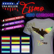 ESSMO™ Neo Chrome Heat Transfer Vinyl HTVT-Shirt Iron On Press Holographic Opal
