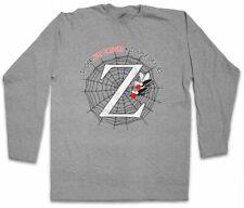 ZED Manica lunga T-shirt Pulp Fiction Vincent Vega RED BALL COP Butch roccioso Movie