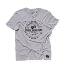 Siluran Taille S Noir Gris Tee shirt  Homme TRIUMPH  MFNS15125