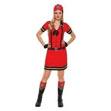 Adult Costume ~ FIREFIGHTER HONEY COSTUME ~ Women's M Medium (8-10) ~ NEW