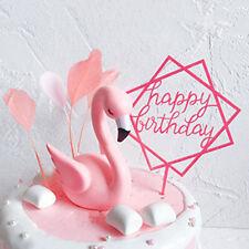 Resin Swan Figurine  Birthday Wedding Anniversary Party Decoration LG