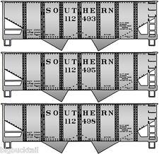 Accurail Southern Usra 55-Ton 2-Bay Hopper Car Kits (3 car set) Nib