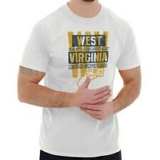 West Virginia Student Team Game WV Souvenir Sports Uniform Classic T Shirt Tee