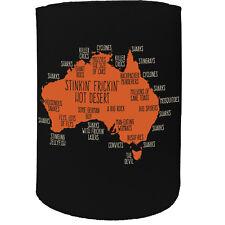 Stubby Holder - Australia Explained Ossie - Funny Novelty Birthday Gift Joke