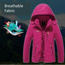 Men Women Outdoor Softshell Jacket Coat Waterproof Breathable Outwear Hiking