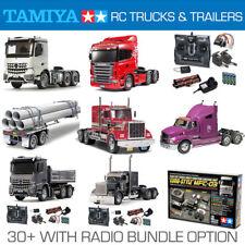 TAMIYA RC Trucks, Trailers and Radio Bundles - Choose