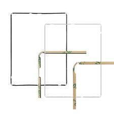 Joint Contour Vitre Tactile Noir ou Blanc avec 3M Adhésif pour iPad 2 / 3 / 4