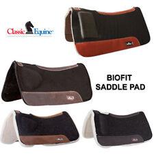 CLASSIC EQUINE BIOFIT CORRECTION SADDLE PAD / SHIM PAD  FLEECE / FELT BOTTOM