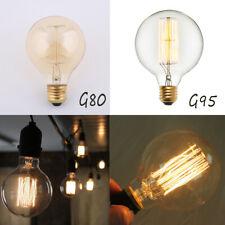 E27/B22 220V Vintage Retro Globe Edison Bulb G80/G95 Industrial Style Light Lamp