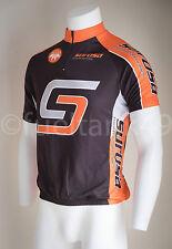 Alexa Surosa S/S Cycling Jersey Short Sleeve Half Zip - Orange/Black