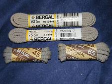 BERGAL GRIGIO CHIARO 4mm CORDONCINO STRINGA LUNGHE 45cm-90cm stringa