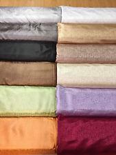 THS 650 Stoff Sand Soft Polyester Gardinen Deko Vorhang 150 cm breit