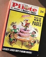 PILOTE album 34 édition belge n°432 à 444 - 1968