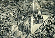 """"""" FIRENZE : PANORAMA e DUOMO """" Viaggiata  ANNO 1959"""