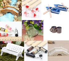 À faire soi-même Mini miniature Fée Décoration De Jardin Décoration Pot Craft Dollhouse Accessoires