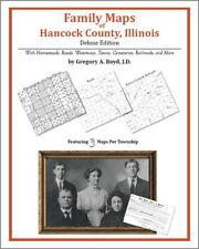 Family Maps Hancock County Illinois Genealogy IL Plat