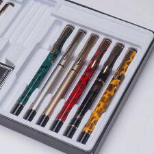 Luxury BAOER 801 Metal China Fountain Pen Smooth Fine 0.5mm Nibs Writing Gifts
