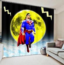 3D Superman 314 Blockout Photo Curtain Printing Curtains Drapes Fabric Window AU