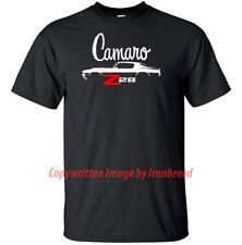 1970 1971 1972 1973 Camaro Z28 T-Shirt SS Muscle Car Silhouette 70 71 72 73