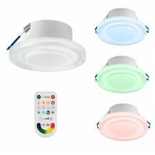 TEVEA LED Einbauleuchte  RGBW  Party  Stimmung Licht Dimmbar Einbaustrahler