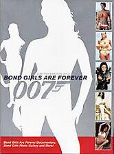 Bond Girls are Forever  (DVD, 2006,) 007  Limited Edition  JAMES BOND girls