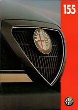 Alfa Romeo 155 1993-95 UK Market Sales Brochure Q4 2.5 V6 2.0 1.8 Twin Spark