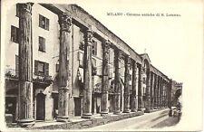 Italy, Milano- Colonne Antiche Di S. Lorenzo. Vintage  Postcard.