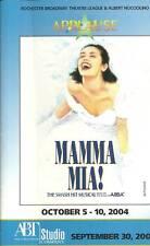 Mamma Mia! Abba Songs! 2004 Program Rochester NY Tiffani Barbour