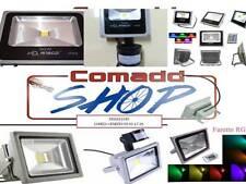 FARO FARETTO A LED LUCE CALDA LUCE FREDDA RGB/SENSORE 10W 20W 30W 50W 80W 100W