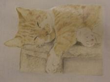 Printed Cotton Bag with Unique Drawn Cat Designs