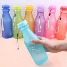 Portable Leak-proof Sports Traveling Unbreakable 550ml Plastic Water Bottle