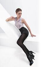 noir grande taille femmes SOIE opaque souple DAILY chaud épais collant XL T79