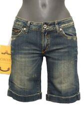 Shorts Jeans donna Upper Class Fashion Tg. S M W28 30 Denim Stretch Vintage Sexy