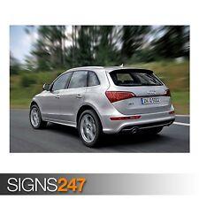 AUDI Q5 3.0 TDI QUATTRO S (AC794) CAR POSTER - Poster Print Art A0 A1 A2 A3