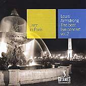 Louis Armstrong - Jazz in Paris (The Best Live Concert, Vol. 2/Live Recording, 2