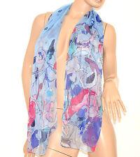 STOLA FOULARD donna SETA coprispalle trasparente elegante da cerimonia scarf 160