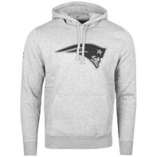 New Era Fleece Hoody - NFL New England Patriots heather grey