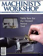 Machinist's Workshop Magazine Vol.17 No.4 August/September 2004